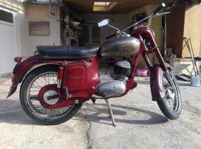 ČZ 175 typ 470 z roku 1968