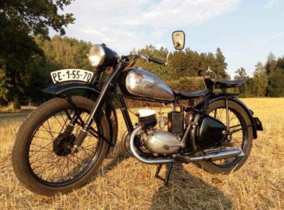 ČZ 125 T z roku 1948 – Druhá projížďka