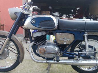 ČZ 175 typ 477 z roku 1970 – První jízda
