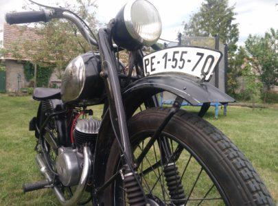 ČZ 125 T z roku 1948