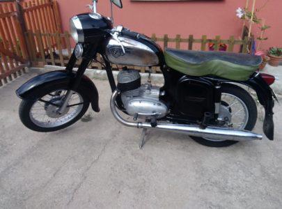 ČZ 125 typ 453 z roku 1961