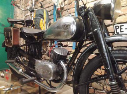ČZ 125 T z roku 1948 – Údržba po 1000 km