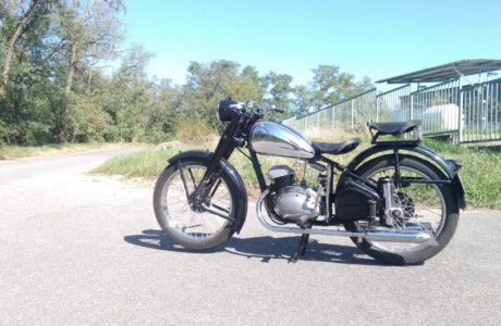 ČZ 150 C z roku 1951 První projížďka 0 460x300 - ČZ 150 C z roku 1951 - První projížďka