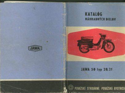 Katalog ND Jawa 50 20, 50 21 rok vydání 1969