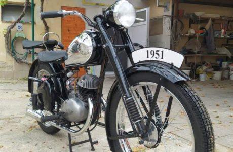 Z 150 C z roku 1951 Madlo spolujezdce 4 460x300 - ČZ 150 C z roku 1951