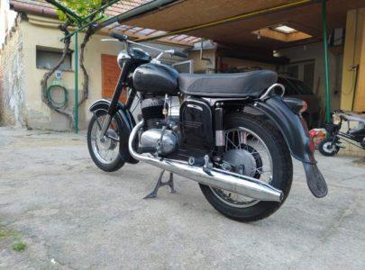 ČZ 250 typ 455 z roku 1961 – Volnoběh po GO