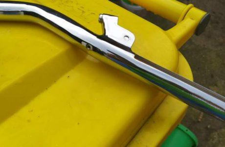 CZ 125 typ 453 z roku 1961 – Prvni varka chromovanych dilu z reklamace 6 460x300 - ČZ 125 typ 453 z roku 1961 - Renovace