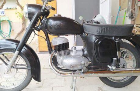 CZ 250 typ 455 z roku 1961 Dokonceni projektu 4 460x300 - ČZ 250 typ 455 z roku 1961