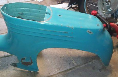 Jawa 50 typ 555 z roku 1959 – Vraceni puvodni barvy 37 460x300 - Jawa 50 typ 555 z roku 1959
