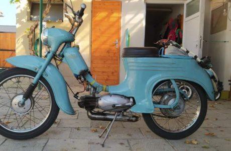 Jawa 50 typ 555 z roku 1959 1 460x300 - Jawa 50 typ 555 z roku 1959