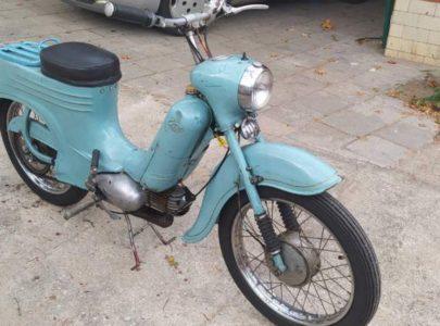 Jawa 50 typ 555 z roku 1959 – První jízda