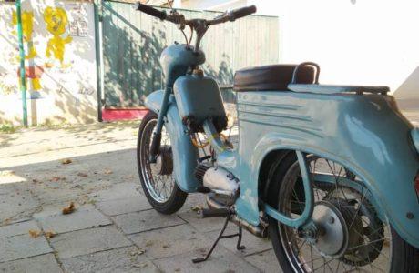 Jawa 50 typ 555 z roku 1959 3 460x300 - Jawa 50 typ 555 z roku 1959
