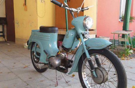Jawa 50 typ 555 z roku 1959 5 460x300 - Jawa 50 typ 555 z roku 1959