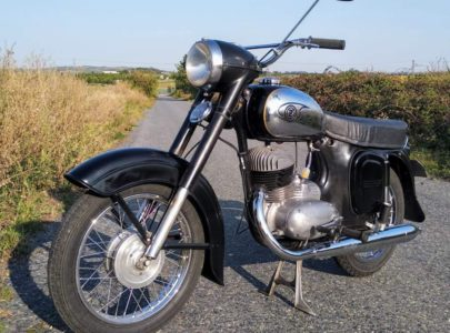 ČZ 250 typ 455 z roku 1961