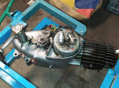 Jawa 50 typ 555 z roku 1959 – GO motoru