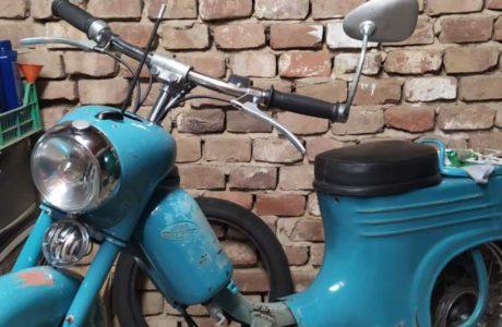 Jawa 50 typ 555 z roku 1959 Skladani predku motocyklu 4 460x300 - Jawa 50 typ 555 z roku 1959