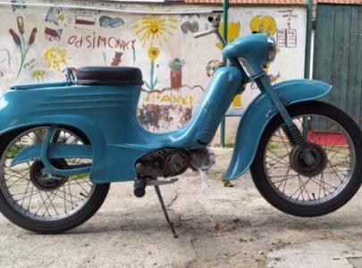 Jawa 50 typ 555 z roku 1959 – Vrácení původní barvy