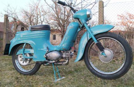 Jawa 50 typ 555 z roku 1959 Po restaurovani 1 460x300 - Jawa 50 typ 555 z roku 1959 - Po restaurování