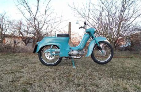 Jawa 50 typ 555 z roku 1959 Po restaurovani 15 460x300 - Jawa 50 typ 555 z roku 1959 - Po restaurování