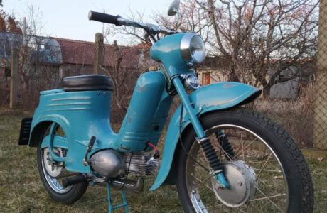 Jawa 50 typ 555 z roku 1959 Po restaurovani 21 460x300 - Jawa 50 typ 555 z roku 1959 - Po restaurování