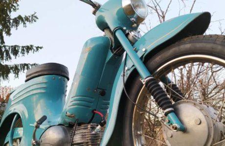 Jawa 50 typ 555 z roku 1959 Po restaurovani 27 460x300 - Jawa 50 typ 555 z roku 1959 - Po restaurování