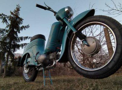 Jawa 50 typ 555 z roku 1959