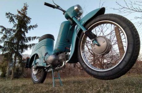 Jawa 50 typ 555 z roku 1959 Po restaurovani 31 460x300 - Jawa 50 typ 555 z roku 1959 - Po restaurování