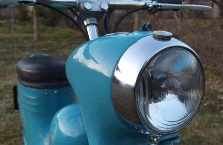 Jawa 50 typ 555 z roku 1959 Po restaurovani 39 460x300 - Jawa 50 typ 555 z roku 1959 - Po restaurování