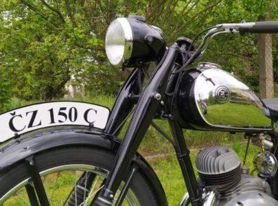 ČZ 150 C z roku 1951 – Oprášena po dvou letech