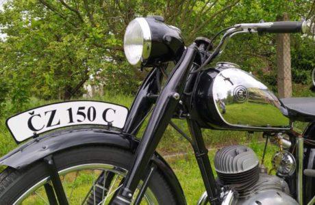 CZ 150 C z roku 1951 – Oprasena po dvou letech 4 460x300 - ČZ 150 C z roku 1951 – Oprášena po dvou letech