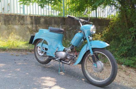 Jawa 50 typ 555 z roku 1959 Zabeh motoru 23 460x300 - Jawa 50 typ 555 z roku 1959 - Záběh motoru