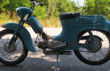Jawa 50 typ 555 z roku 1959 Zabeh motoru 25 460x300 - Jawa 50 typ 555 z roku 1959 - Záběh motoru