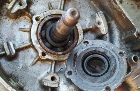 CZ 150 C z roku 1951 Generalni oprava motoru 11 460x300 - ČZ 150 C z roku 1951 - Generální oprava motoru