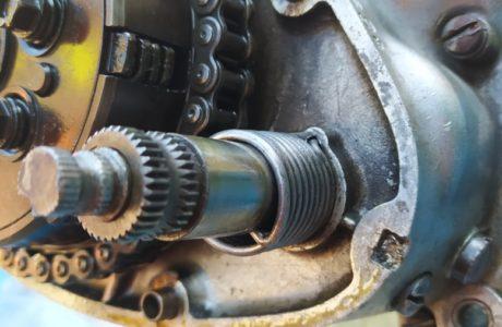 CZ 150 C z roku 1951 Generalni oprava motoru 18 460x300 - ČZ 150 C z roku 1951 - Generální oprava motoru