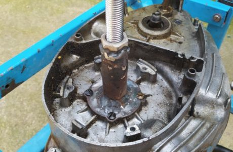 CZ 150 C z roku 1951 Generalni oprava motoru 25 460x300 - ČZ 150 C z roku 1951 - Generální oprava motoru