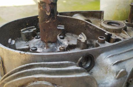 CZ 150 C z roku 1951 Generalni oprava motoru 30 460x300 - ČZ 150 C z roku 1951 - Generální oprava motoru