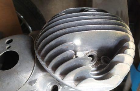 CZ 150 C z roku 1951 Generalni oprava motoru 56 460x300 - ČZ 150 C z roku 1951 - Generální oprava motoru